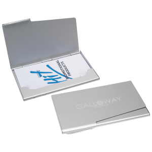 Search image masters buy promotional products in merced united aluminum business card holder colourmoves Images