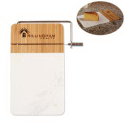 Marble and Bamboo Cutting Board | Image Masters - Order